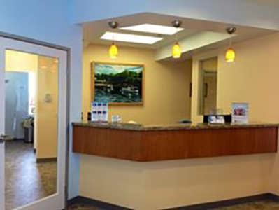 Huntington Beach Dentist Front Desk